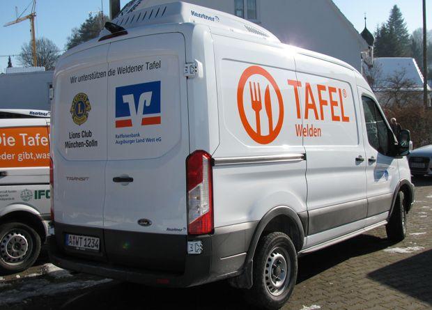 Spende: Kühlfahrzeug für die Weldener Tafel e.V.