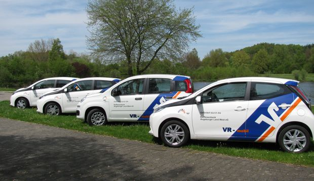 Neue Fahrzeuge für die Sozialstation Augsburger Land West gGmbH